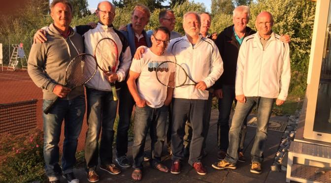 Herren 50 – ungeschlagener Meister 2015